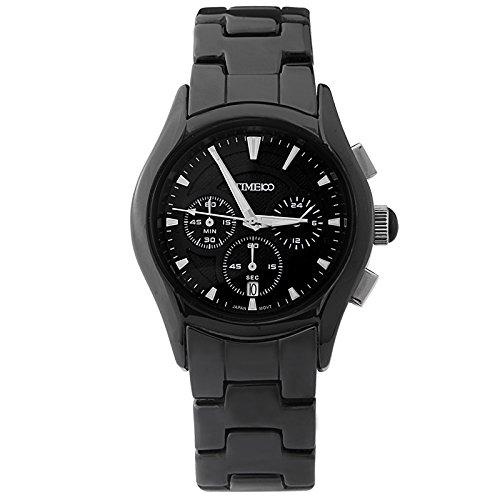 Time100 orologio modalità classica in ceramica di business stile per uomini # w70059g.02an