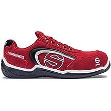 Sparco M255900 - Zapato seguridad sport low rojo talla 43