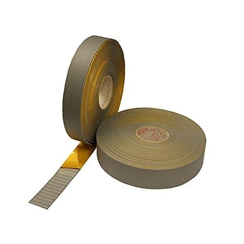Heizungstape Rohrisolierung Klebeband für Kaiflex- Armaflex-Band grau von SchatTec (Heizkörper Isolierung)