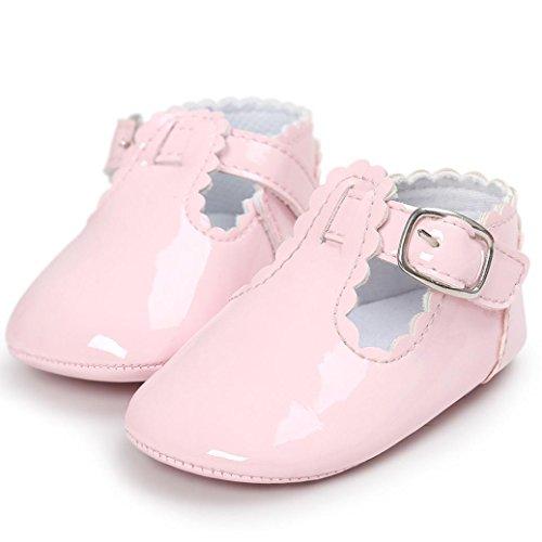 Saingace Baby Prinzessin Soft Sohle Schuhe Kleinkind Turnschuhe Freizeitschuhe Rosa