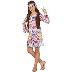 Atosa 20685-Hippie, chica Disfraz, tamaño 116