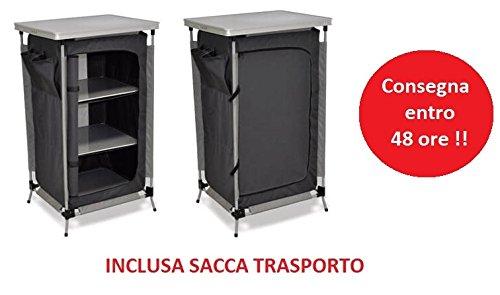 Mobile Schrank mit 3Böden klappbar ideal für Campin… | 00733991912259