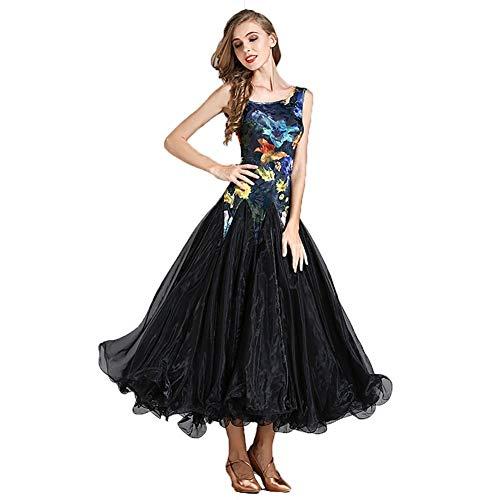 e9334b0598e0 C&X Donne Waltz Modern Dance Performance Vestito da Ballo Vestito da Ballo  Standard Nazionale Gonna A