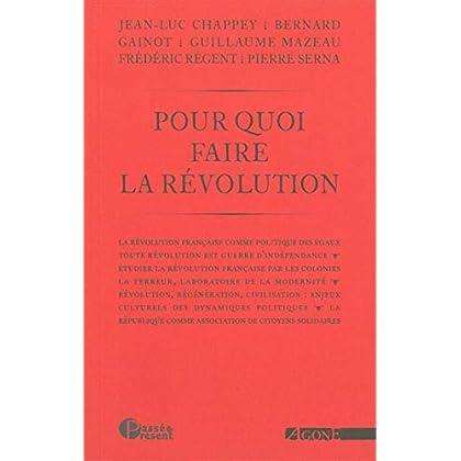 Pour quoi faire la Révolution