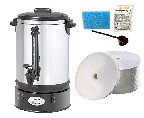 Bartscher Rundfilter Kaffeemaschine Regina Plus 40T + 250 Rundfilter