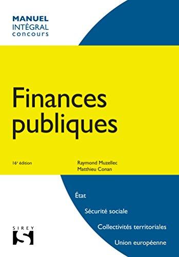 Finances publiques - 16e éd.
