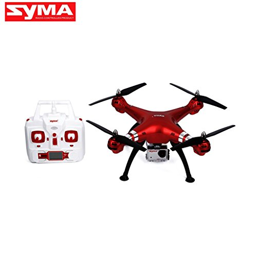Qiman Syma X8HG RC Drohne Quadcopter 2.4G 8.0MP HD Kamera Barometer Set Höhe Headless (Rc Quadcopter Drohnen)