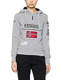 Geographical Norway Damen Kapuzenpullover Gymclass Lady Assort B