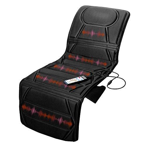 10 Motor-massage-matte (MaisonMaligne Massagematratze - 172 x 57 cm - Vibrationsmatte mit Fernbedienung - Faltbar - Massageauflage Massagematte Massage Matte Auflage Rückenmassagegerät Massagetisch)
