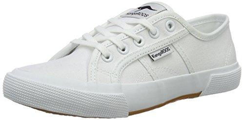 KangaROOS Damen Voyage Sneaker Weiß (white)