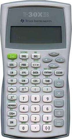 Texas Instruments - Calcultrice scientifique TI-30X IIB