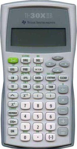 Texas Instruments TI 30 XIIB Calcolatrice