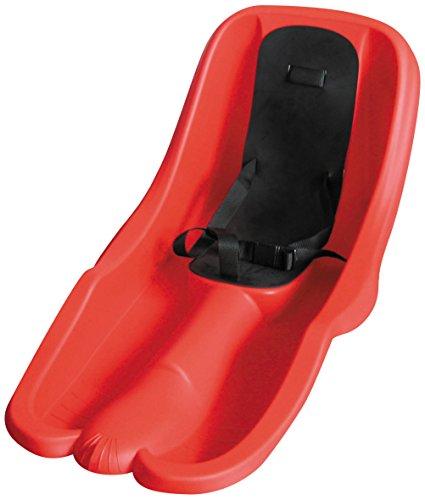 Plastkon slittino bob da neve, bambini, rosso, 74 cm