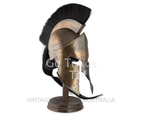 König Leonidas Spartan Helm Krieger Kostüm mittelalterlichen Helm Liner SCA Geschenk ()