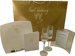 Idea Regalo - Pearl per Il ° Anniversario di Matrimonio Confezione Regalo