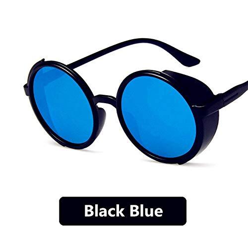 SUNNYTYJ Sonnenbrillen Männlich Weiblich Metall Sonnenbrille Gold Vintage Kreis Sonnenbrille Feminine Runde Sonnenbrille Neue Frauen Männer Legierung Runde