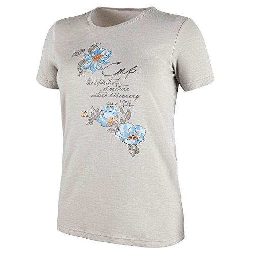 CMP femme Stretch Mélange Tee-shirt 3t65566 Désert