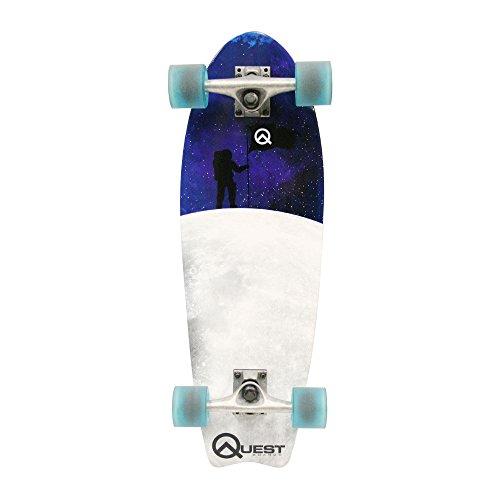 Quest Fishtail Cruiser Board Skateboard (27)
