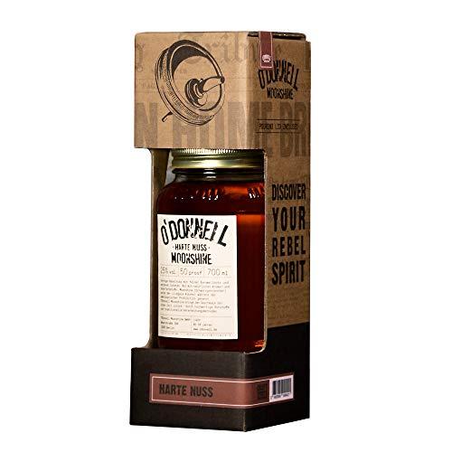 im originellen Mason Jar - Kombisets (Harte Nuss) I Made in Germany I Natürliche Zutaten I Premium Haselnuss Schnaps nach Amerikanischer Tradition I 25% Vol. Alkohol ()