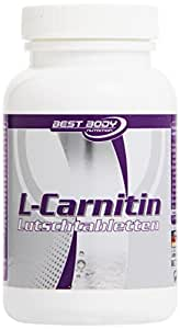 Best Body Nutrition Fatburner L-Carnitine Tabs - Pack of 60, Citrus