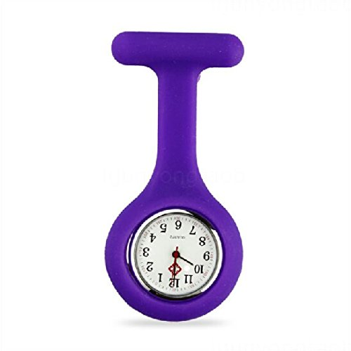 SILICONE-GEL-Nurses-Fob-Watch-Washable-Infection-Free