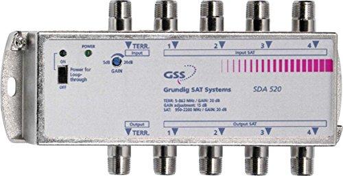GSS Grundig Sat Multi-Verstärker SDA 521 mit 4 SAT-Eing. SAT-Verstärker 4045861006453