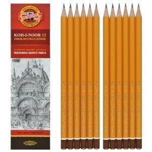 KOH-I-NOOR Bleistifte Härte 8B Graphitstifte Set 12 Stück