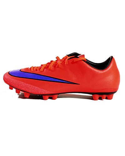 Nike  Mercurial Veloce II AG, Chaussures de football homme Rouge - Rouge