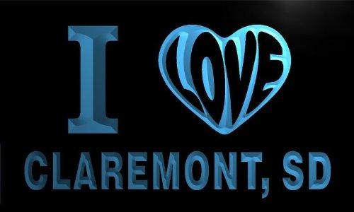 v65971-b-i-love-claremont-sd-south-dakota-city-limit-neon-light-sign