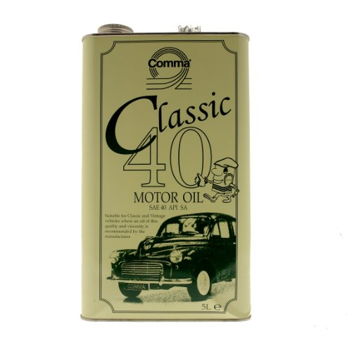 Comma CLA405L 0W-40 Klassisches Motoröl 5 L (Classic Car Motor Oil)