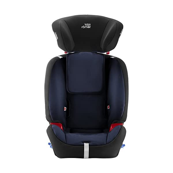 Britax Römer MULTI-TECH III Car Seat (9 Months-6 Years  9-25 kg), Moonlight Blue  Advanced side impact protection - the SICT feature offers superior protection to your child in the event of a side collision Extended rearward facing - rearward facing car seats offer the best protection in the event of a frontal collision - the most frequent type of accident on the roads Deep, protective side wings - the soft, padded side wings act as a protective cocoon that helps to absorb the force from a side impact, reducing the risk of injuries to your child 7