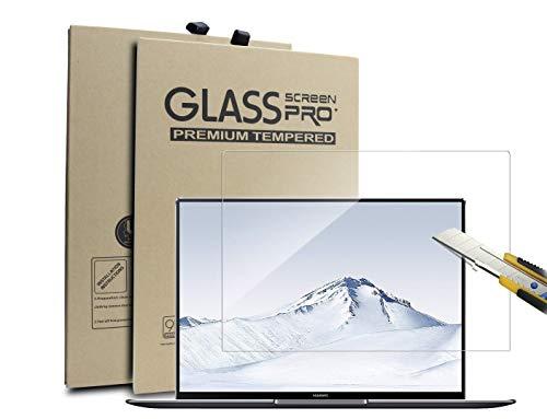 Supremery Panzerglas für Huawei MateBook X Pro Panzerglas Schutzfolie Screen Protector Zubehör Glas Folie HD Klar Bildschirmschutz Folie für Huawei MateBook X Pro 13,9 Zoll