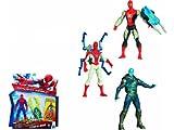 Hasbro A5700E27 - Amazing Spiderman 2 Figurine da 10 cm, Personaggi Assortiti