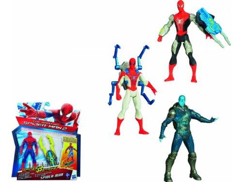 Spiderman A5700E27 - Figura de acción Spiderman (A5700E27) - fifuras spider strike -12 SIRTIDO
