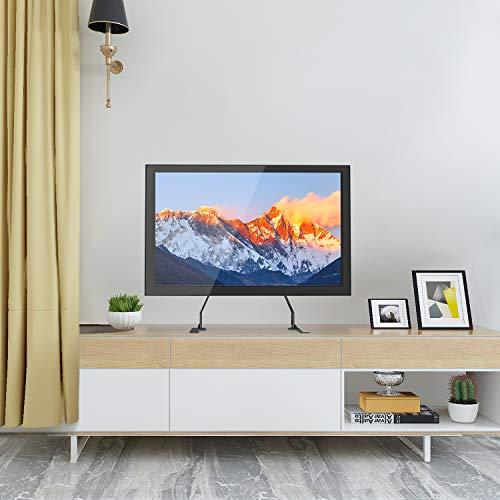 TV Standfuß - Höhenverstellbarer TV Ständer für 37-70 Zoll OLED LCD Plasma Flach Fernseher belastbar bis zu 50kg. max.VESA 600x400mm (TV Stand)