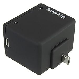 MASUNN Sac À Dos Batterie Externe Boîtier Étanche Coffret Pour Gopro Hero 4 Session