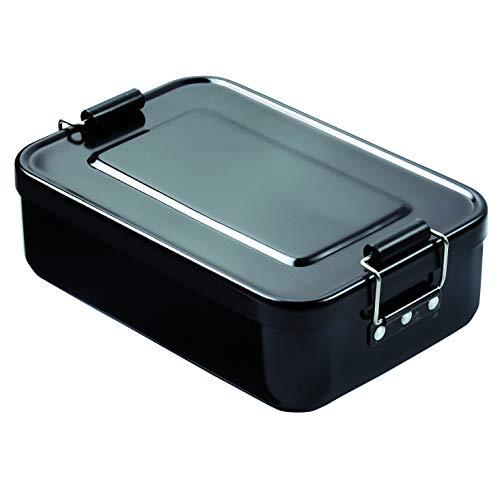12 X 18 Metall (elasto Robuste Brotdose Brotbüchse Lunchbox