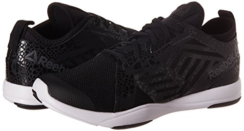 Reebok Chaussures de Fitness CARDIO INSPIRE LOW 2.0 femme black-running-white-ash grey