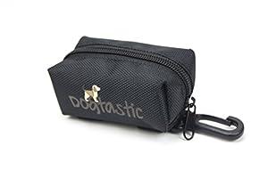 Distributeur de sacs ramasse-crottes | Poop Bag Sac | chien Distributeur de Sacs ramasse-crottes | Sacoche de rangement aussi pour distributeur de friandises–Clip de fixation pour fixer à la laisse pour chien–Sachets | Distributeur |