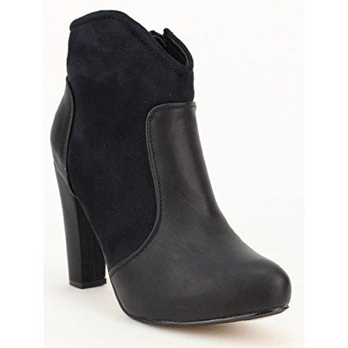 Cendriyon, Lows boots noire FDK Mode Chaussures Femme Noir