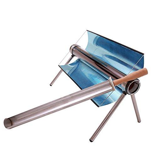 TOPQSC Solargrill Solarkocher Solar-Barbecue-Herd tragbare Solarofen Sun Cooker BBQ Grill mit Tasche