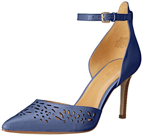 Nove in pelle occidentale Shesgone pompa Dress Blue
