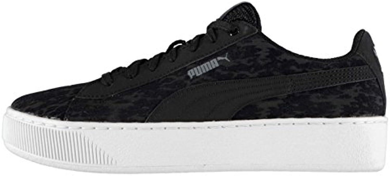 Official Shoes Adidas-Schuhe, Puma Damen Vikky Platform Vr Sneaker, Schwarz Turnschuhe Sneakers
