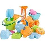 Little Toys Jouets pour Enfants Plage intérieure et extérieure Set Seau Bébé Mains-sur Creuser Sable Pelle Bébé Douche Garçon Fille Jouer Sable Jouer Snow Tool Toy