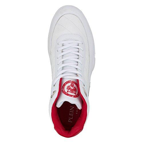 Sneakers PLEIN SPORT Uomo MSC0297 SXV001NPP01K Bianco EG282MSC0297-SXV001NPP01K Bianco