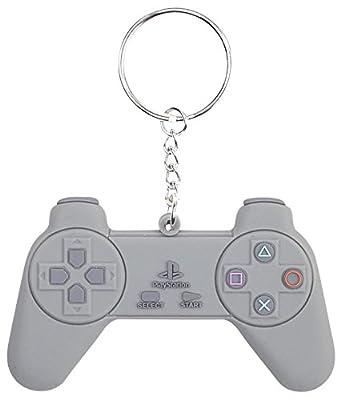 Playstation Controller Porte-Clefs gris