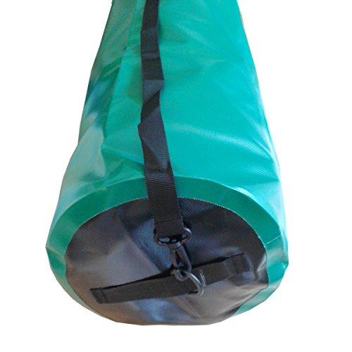CROSSO CO1018 30L Transportbeutel wasserbeständig Fahrradtasche Gepäcktasche Grün