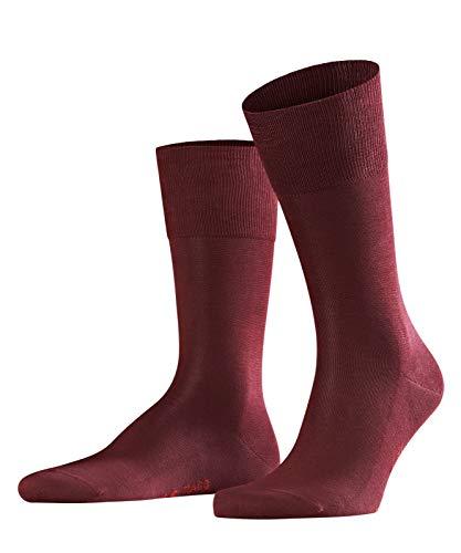 FALKE Herren Socken Tiago, 95% Baumwolle, 1 Paar, Rot (Barolo 8596), Größe: 47-48