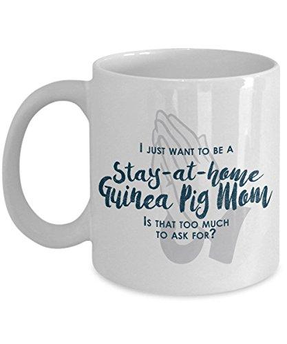 Meerschweinchen-Mutter-Geschenke bleiben zu Hause Meerschweinchen-Mutter-Meerschweinchen-Becher-Geschenke f¨¹r Meerschweinchen-Mutter-lustige Kaffeetasse-Mamma-Becher-Geburtstags-Geschenk
