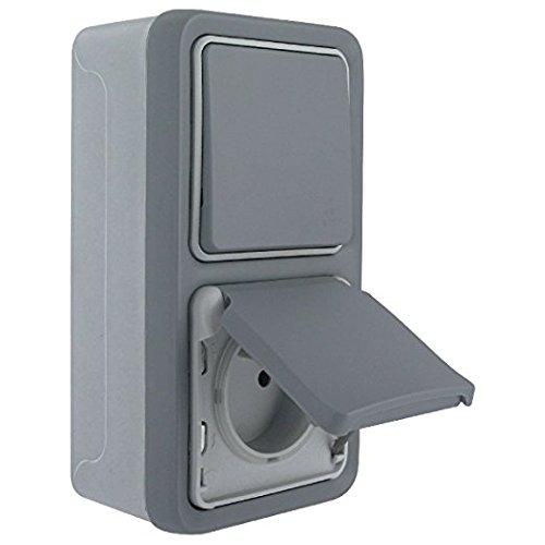 legrand-leg69913-double-prise-de-courant-avec-terre-pre-cablee-montage-vertical-apparent-complet-gri